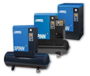 ABAC Spinn Screw Compressor
