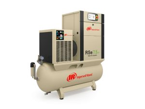 Next generation Ingersoll Rand R series nirvana 7-11kw TAS screw compressor | Airpower UK